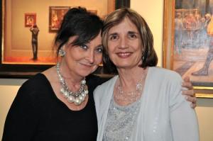 Janet Priset Sandino and Lynne Haeseler