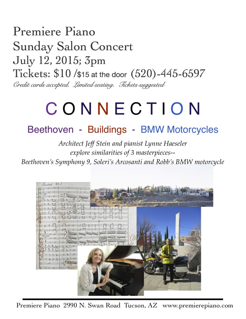 Beethoven, Buildings and BMW Motorcycles @ Premiere Piano